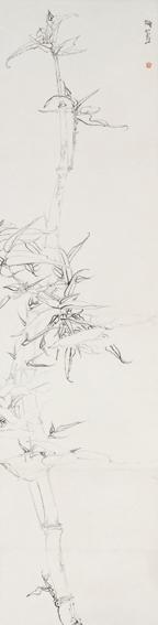 白描竹 Bamboo ()